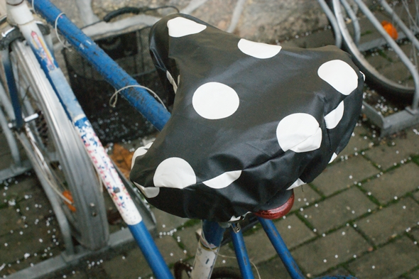 Fahrradsattelschutz eisRINA