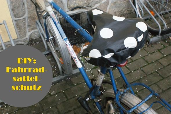 DIY: Fahrradsattelhülle