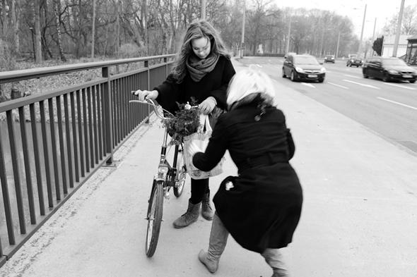 Making Of Eisrina Shooting mit Luisa
