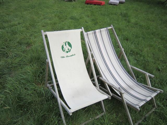 Liegestühle-Hasenholz