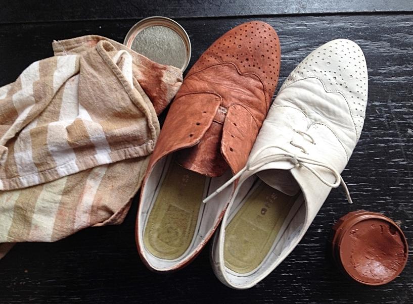 DIY-Schuhe- färben