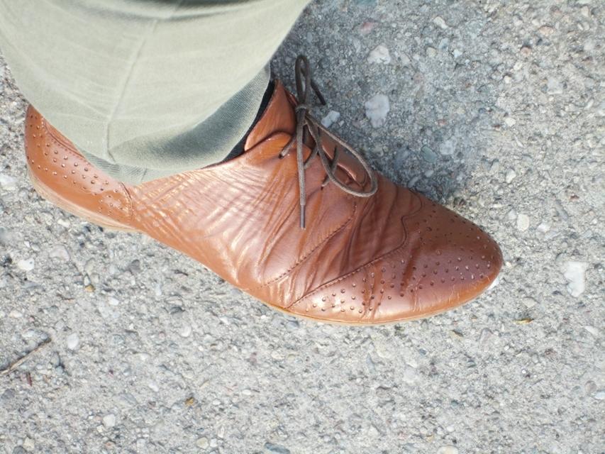 Schuhe-gefärbt